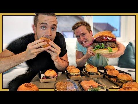 Hur många Burgare hinner man äta under en långfilm?