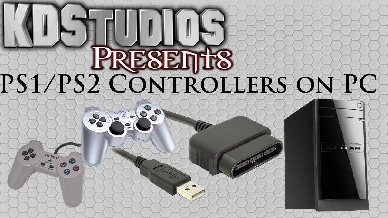 Using PS1 or PS2 Controllers on the PC  PS to USB  How