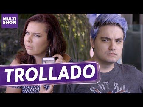 Felipe Neto foi TROLLADO pela Fernanda Souza 😂  ESQUENTA Vai Fernandinha  Humor Multishow