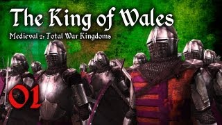 "The King of Wales - Ep.1 - ""Hiring the Recruits"" (A Medieval 2: Total War Kingdoms Let"