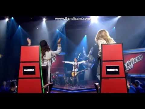 Leevi Sings American Idiot | The Voice Kids Finland