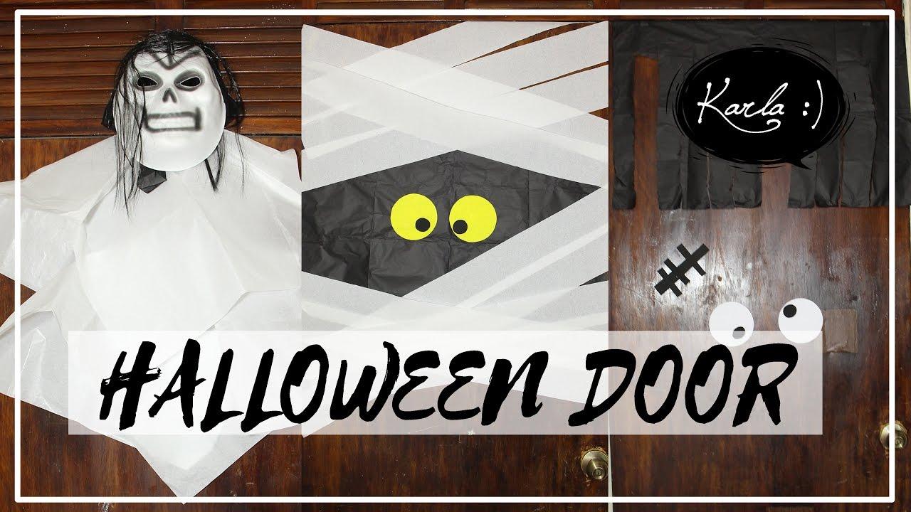 Decora Tu Puerta Para Halloween Día De Muertos Muy Fácil Femlife