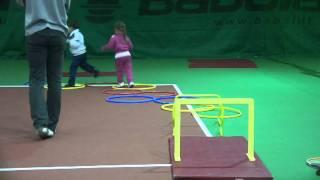 Детский теннис. Дети 3-4 лет