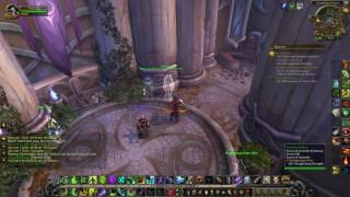 World of Warcraft A Vainglorious Past Class Hall Legion Quest Guide