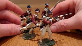 TOY SOLDIER REVIEW: William Britains 71st Highlanders of the American Revolution