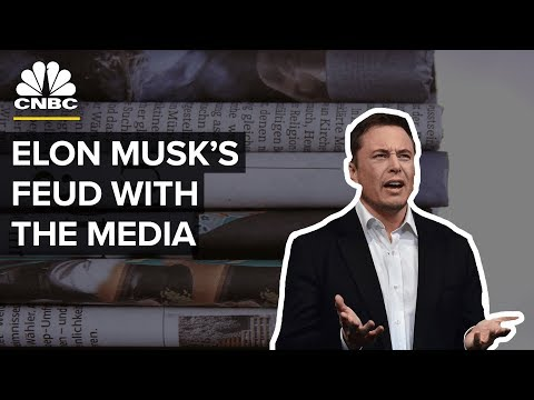 Tesla CEO Elon Musk Versus The Media: The Top Moments | CNBC
