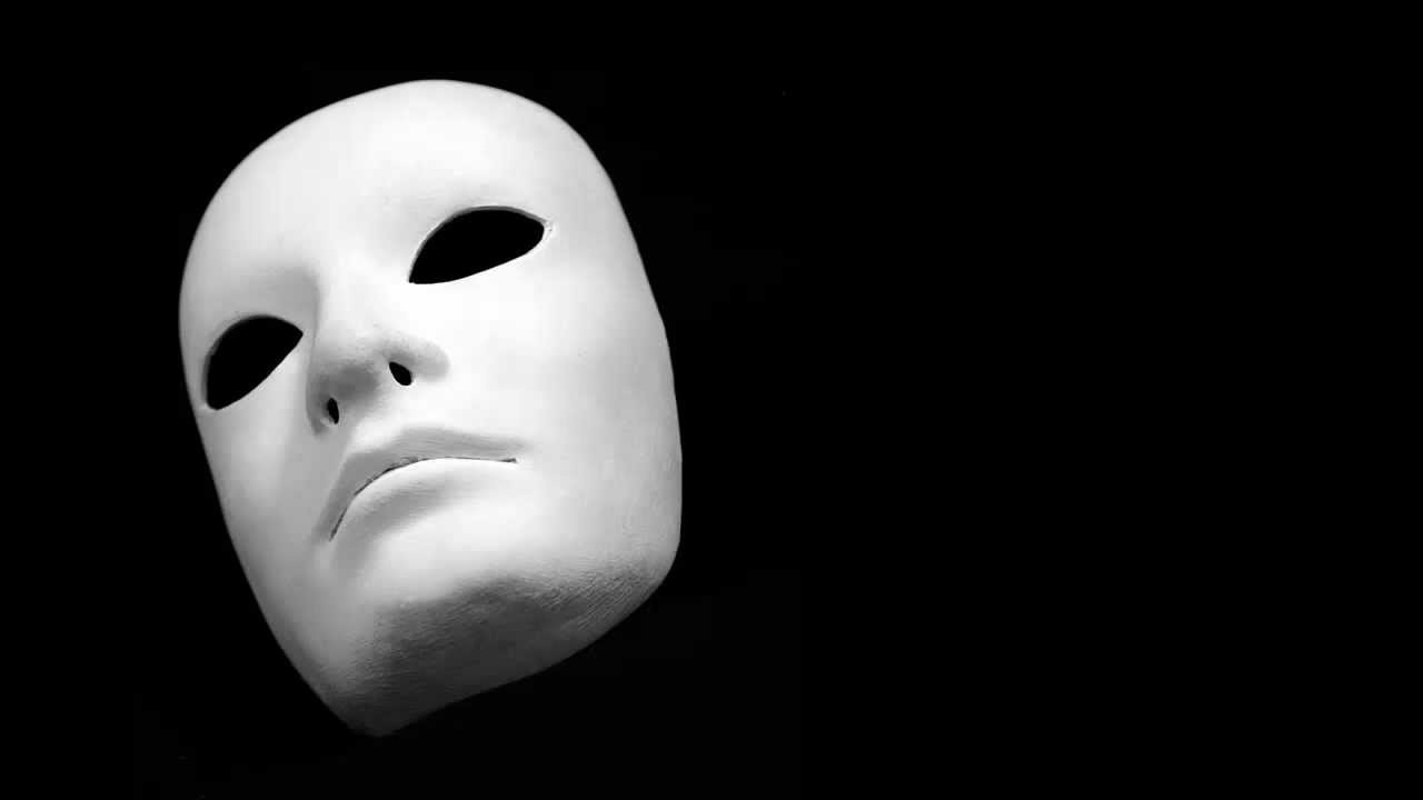 """we wear the mask """"we wear the mask"""" by paul laurence dunbar we wear the mask that grins and lies, it hides our cheeks and shades our eyes,— this debt we pay to human guile with torn and bleeding hearts we smile, and mouth with myriad subtleties why should the world be over-wise, in counting all our tears."""