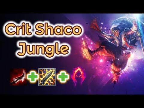 Crit Shaco Jungle [League Of Legends] Full Gameplay - Season 9 - Infernal Shaco