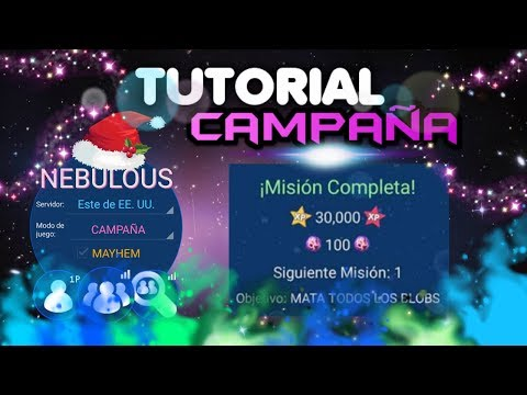 Nebulous Campaña | Tutorial como pasar la Campaña de Nebulous