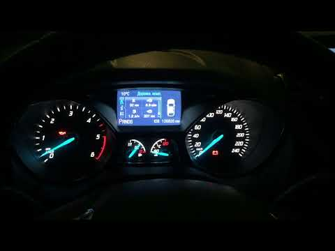 Не заводится дизель утром Ford Kuga 2 2013 на холодную