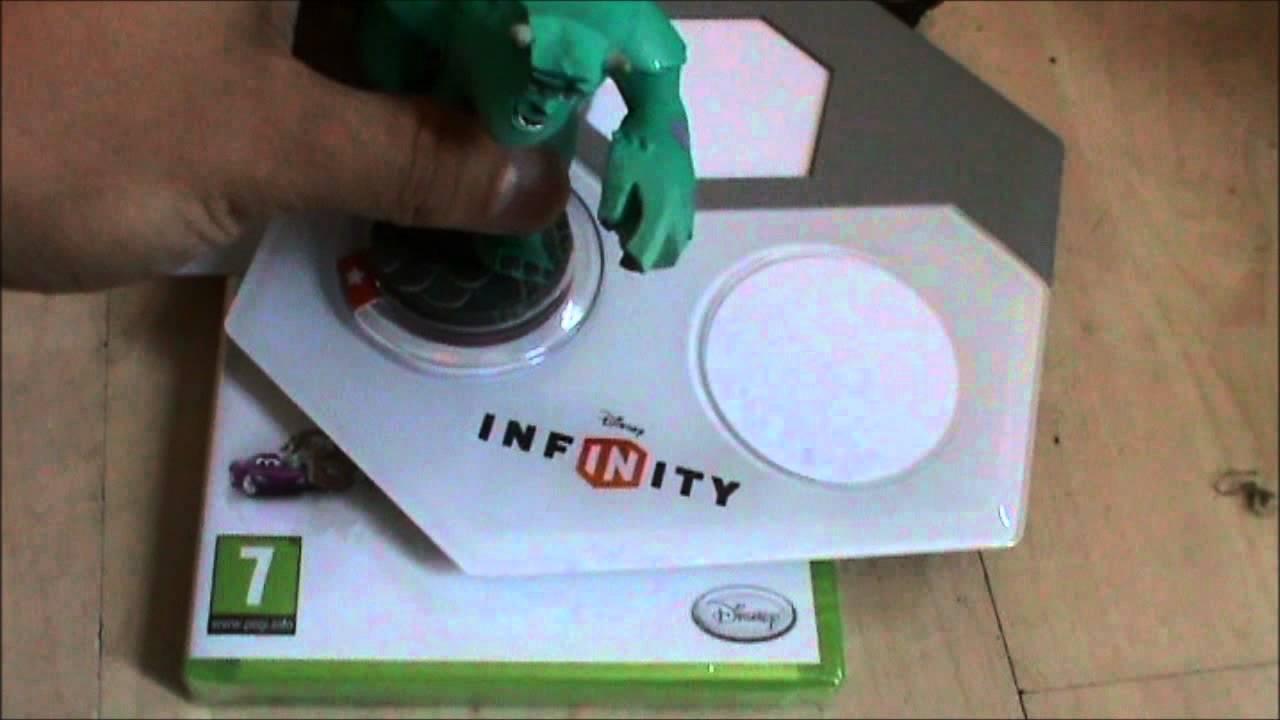 Disney Infinity Starter Pack Xbox 360 Unboxing Youtube