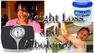 10 pound weight loss and Albolene Challenge