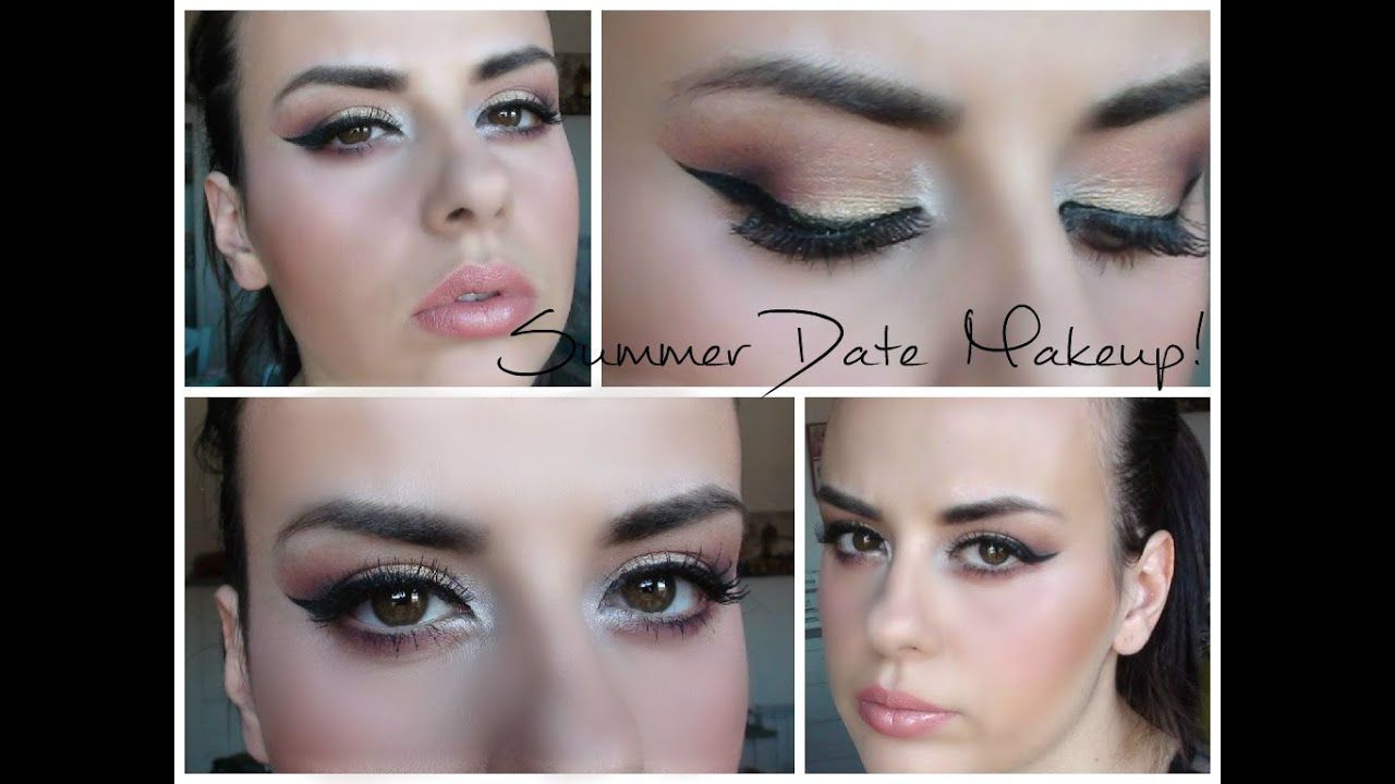 Bien connu ❤Summer DATE Makeup❤ Trucco da SERA estivo! - YouTube ZS15