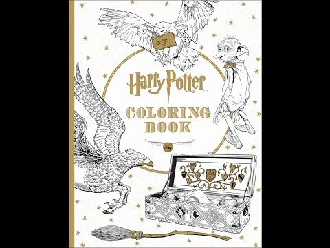 Flip Through Harry Potter Coloring Book by Scholastic Inc.