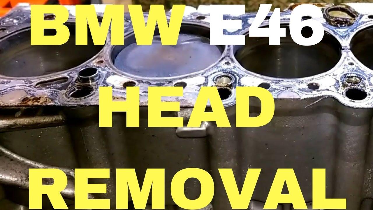 Bad Cylinder Head And Gasket In M52tu Bmw E46 Youtube 316i 318i M43 Engine Oil Filter Housing Leak Gtgt Power