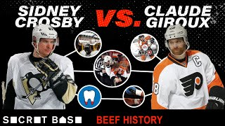 Sidney Crosby and Claude Giroux's beef was painful, brief, and a showcase of hockey's best rivalry
