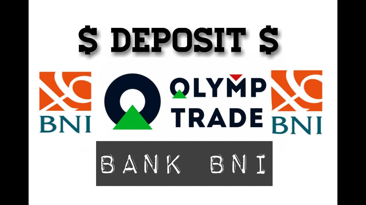 tutorial deposit olymp trade pake bank