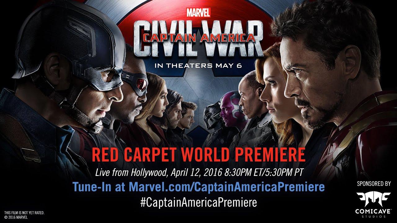 Marvel's Captain America Civil War Red Carpet Premiere