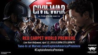 Marvel's Captain America: Civil War Red Carpet Premiere