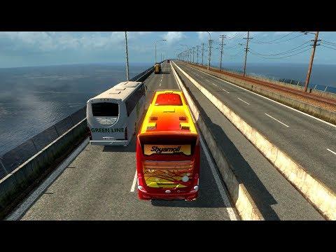 Shyamoli | Dhaka to Pabna | Euro Truck  Simulator 2