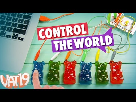 Do Amazing Things Using Everyday Objects with Makey Makey