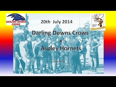 Darling Downs Crows v Aspley Hornets Under 14s 20.7.14