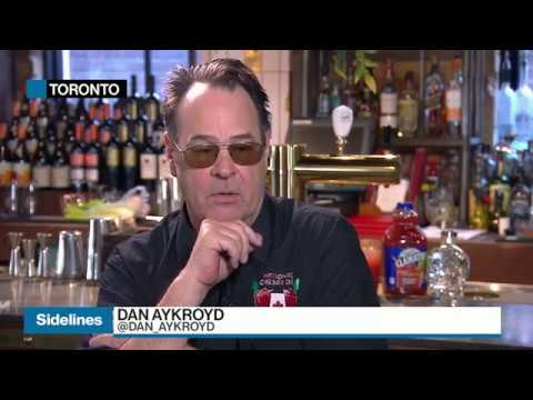 Dan Aykroyd goes all in and all in the family for his Crystal Head Vodka