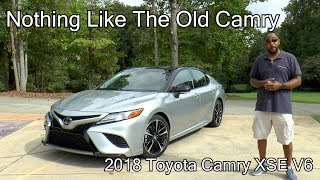 2018 Toyota Camry XSE V6 Review - Not Like The Old Camry