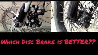 Hydraulic Vs Mechanical Disc Brake