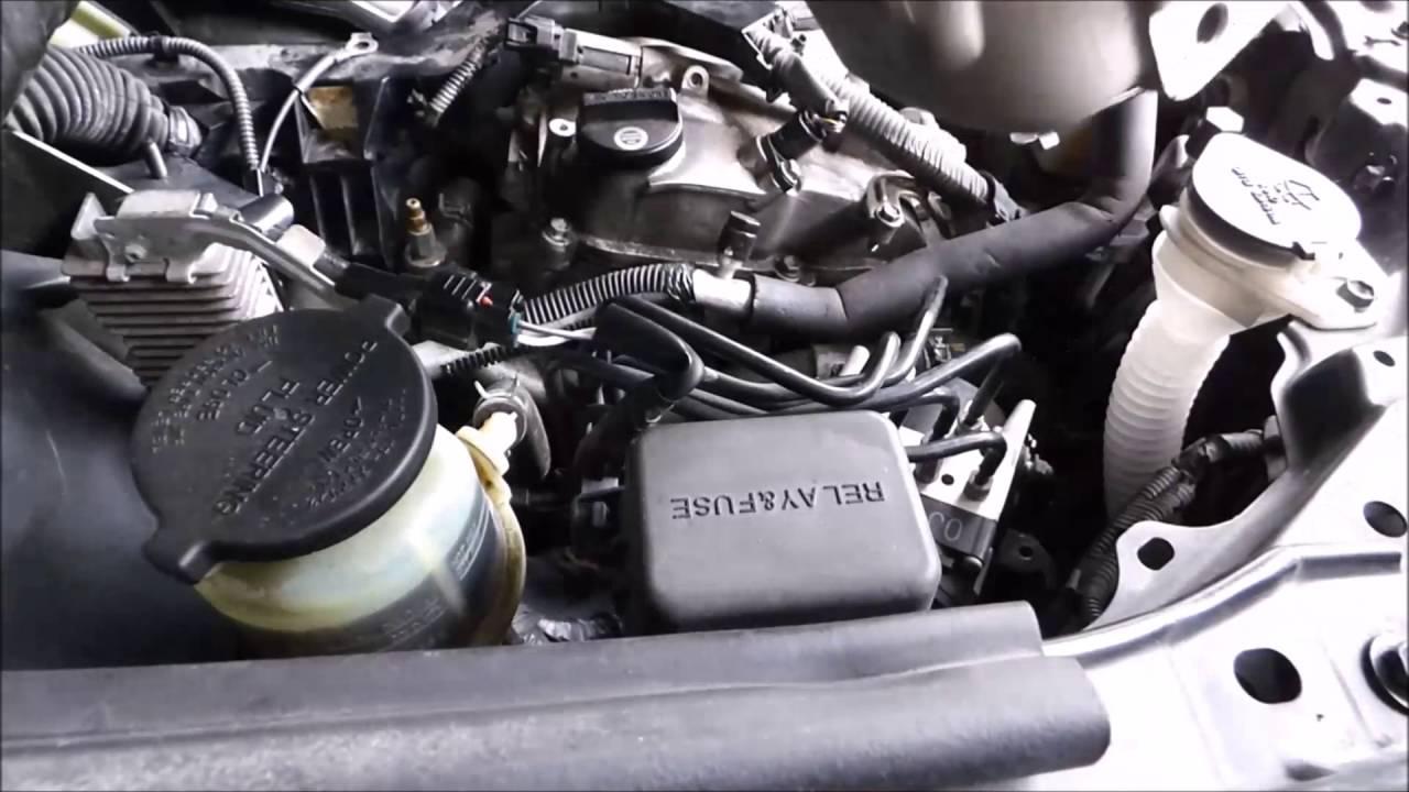 Water Pump Leaking Noisy 2007 Lexus Rx350 Serpentine Belt