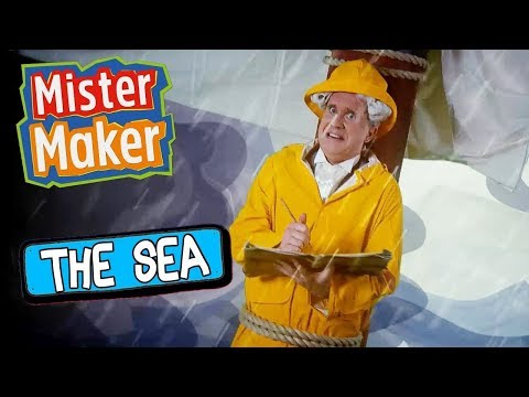 The Sea! | Mister Maker's Arty Party | ZeeKay Junior