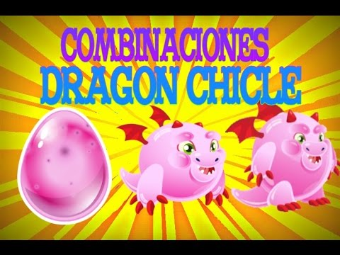 Como hacer al dragon Chicle | Dragon city |