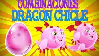 Como hacer al dragon Chicle | Dragon city |