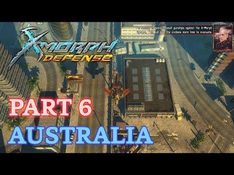 X-Morph: Defense Walkthrough - New Game - Part 6: Australia (No Commentary)