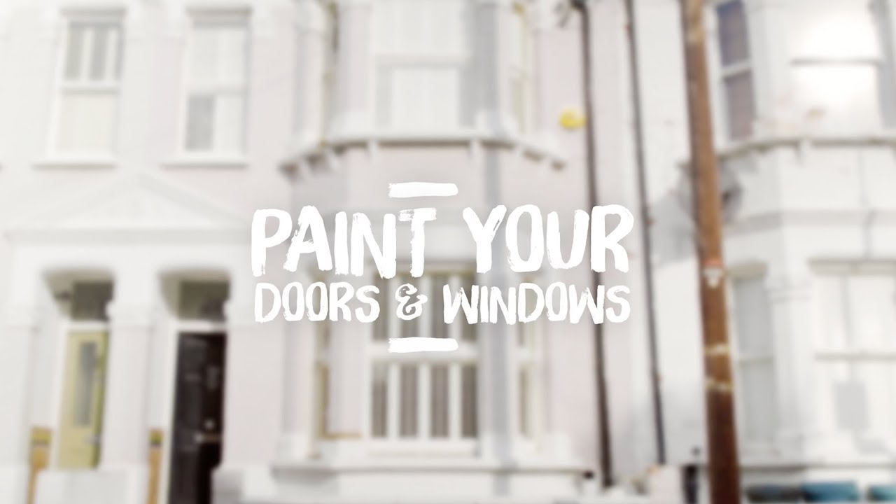 How To Paint External Doors And Windows   Dulux Weathershield