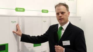 Schneider Electric's Conext TL at Intersolar Europe 2013