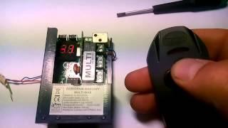 film pokazuje jak w prosty sposób wpisać pilota do radia multi max ...