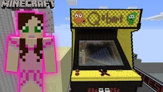 Minecraft: Notch Land - QBERT ARCADE MACHINE GAME [13]