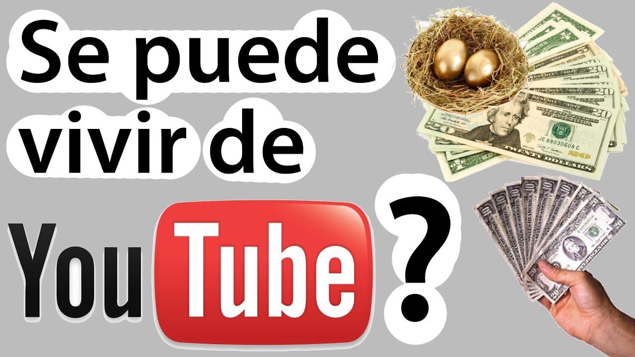 Se puede vivir de youtube cuanto se gana en youtube o - Cuanto se paga de plusvalia ...