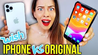 60€ Wish Fake vs 1.400€ iPhone 11 Pro Max Original