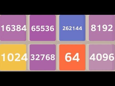 2048 App 2 BILLION TILE MODE - Getting to the 262144 Tile on 2147483648 Tile Using Corner Auto