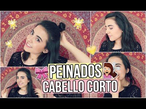 Peinados Tumblr Para Cabello Corto Youtube