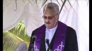 Niue Flag Raising 2010 Part 3: Blessing