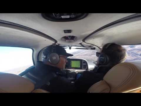 Cirrus SR22T Training--High Crosswinds Training on day of Piper Crash