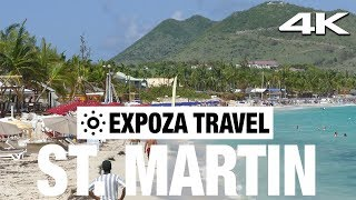 St. Martin 4K Quality Vacation Travel Video Guide