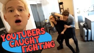 YOUTUBERS FIGHTING ON CAMERA