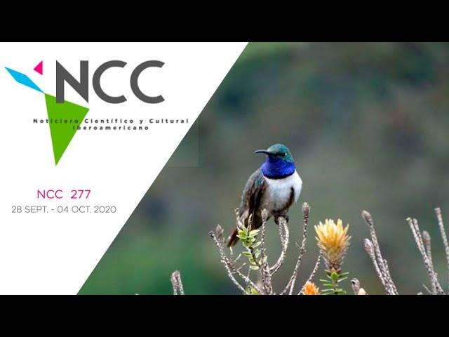 Noticiero Científico y Cultural Iberoamericano, emisión 277. 28 Septiembre al 04 de Octubre 2020