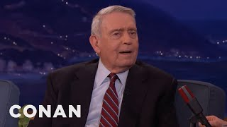 Dan Rather: Trump Isn't Much Of A Reader  - CONAN on TBS