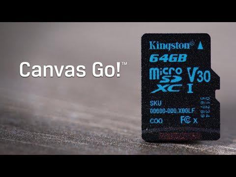 Class 10 Micro SDHC/SDXC 記憶卡 - Canvas Go! - Kingston Technology