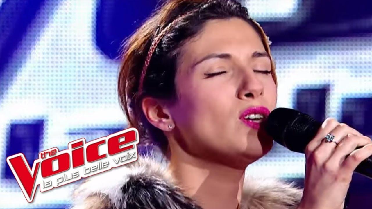 Maureen Angot |The Voice 2012   - Maniac (Michael Sembello) | Blind Audition